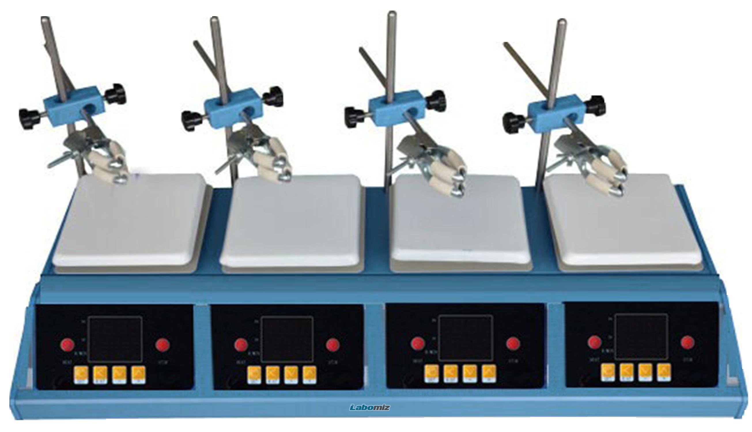 4-Position hotplate stirrer MHPS-3D