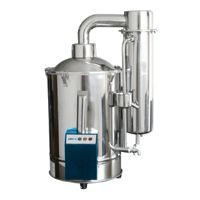 Automated shut-off water distiller MAWD-1C