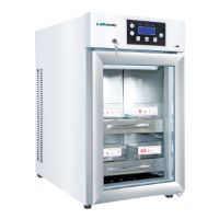 Blood bank refrigerator MBLBR-1A