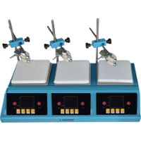 3-Position hotplate stirrer MHPS-2A
